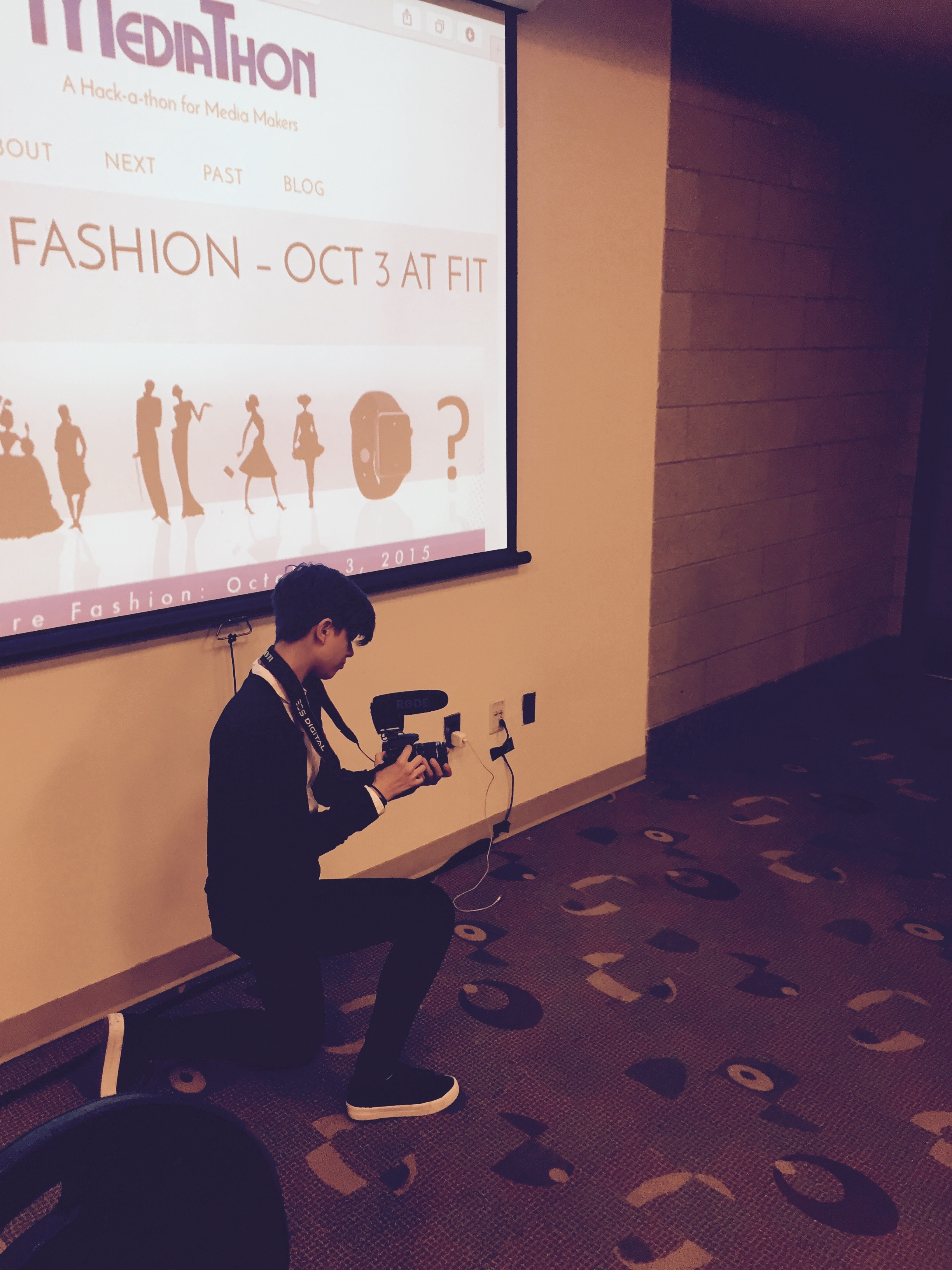 In Action @ Future Fashion